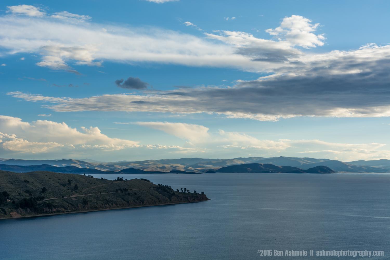 Across Lake Titicaca, Bolivia