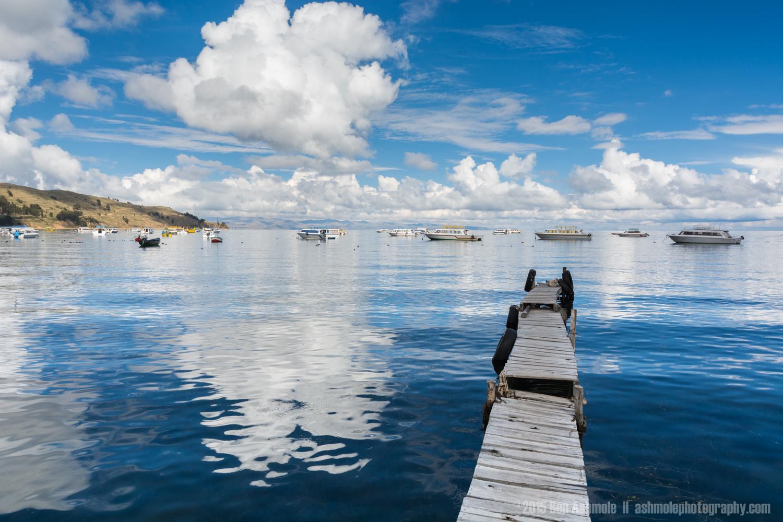 Lake Titcaca, Copacabana, Bolivia