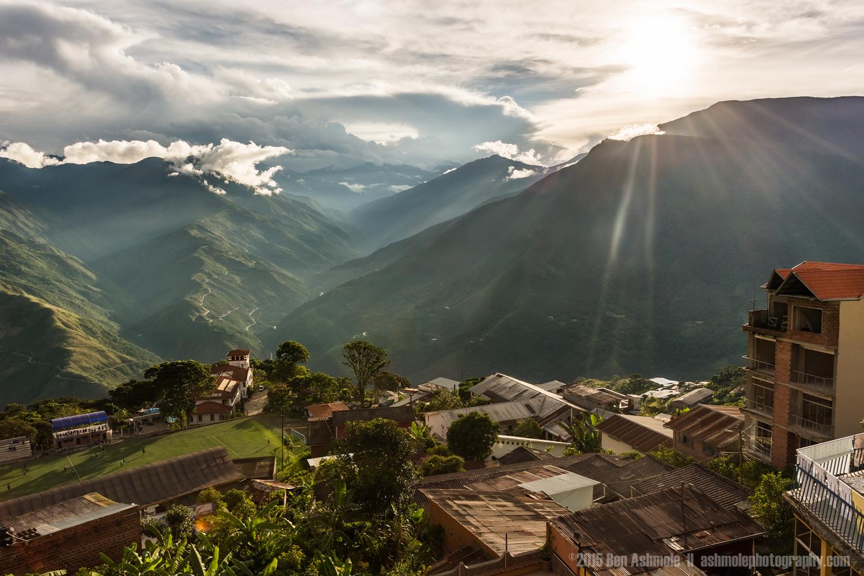 Sunset From Coroico, Bolivia