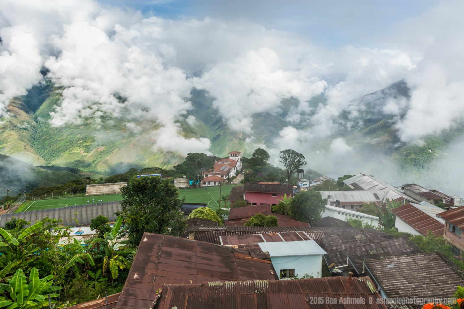 City In The Clouds, Coroico, Bolivia
