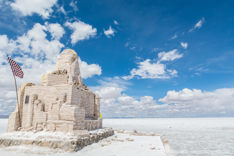 Dakar Sculpture, Uyuni Salt Flat, Bolivian Highlands 2