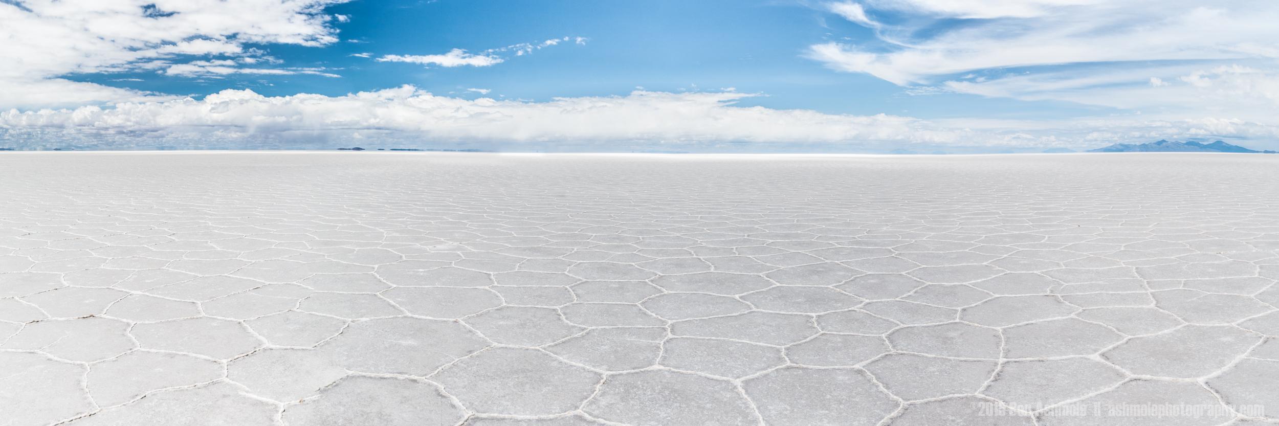 Uyuni Salt Flat Panorama, Bolivia