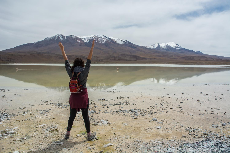 Amazing Scenery, Lake Chiar Kota, Bolivian Highlands