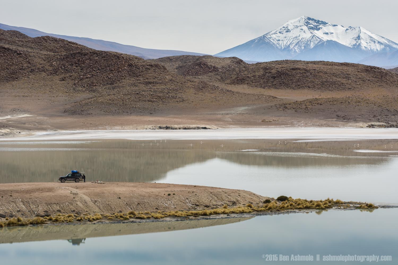 4x4 In Scenery, Lago Chiar Kota, Bolivian Highlands