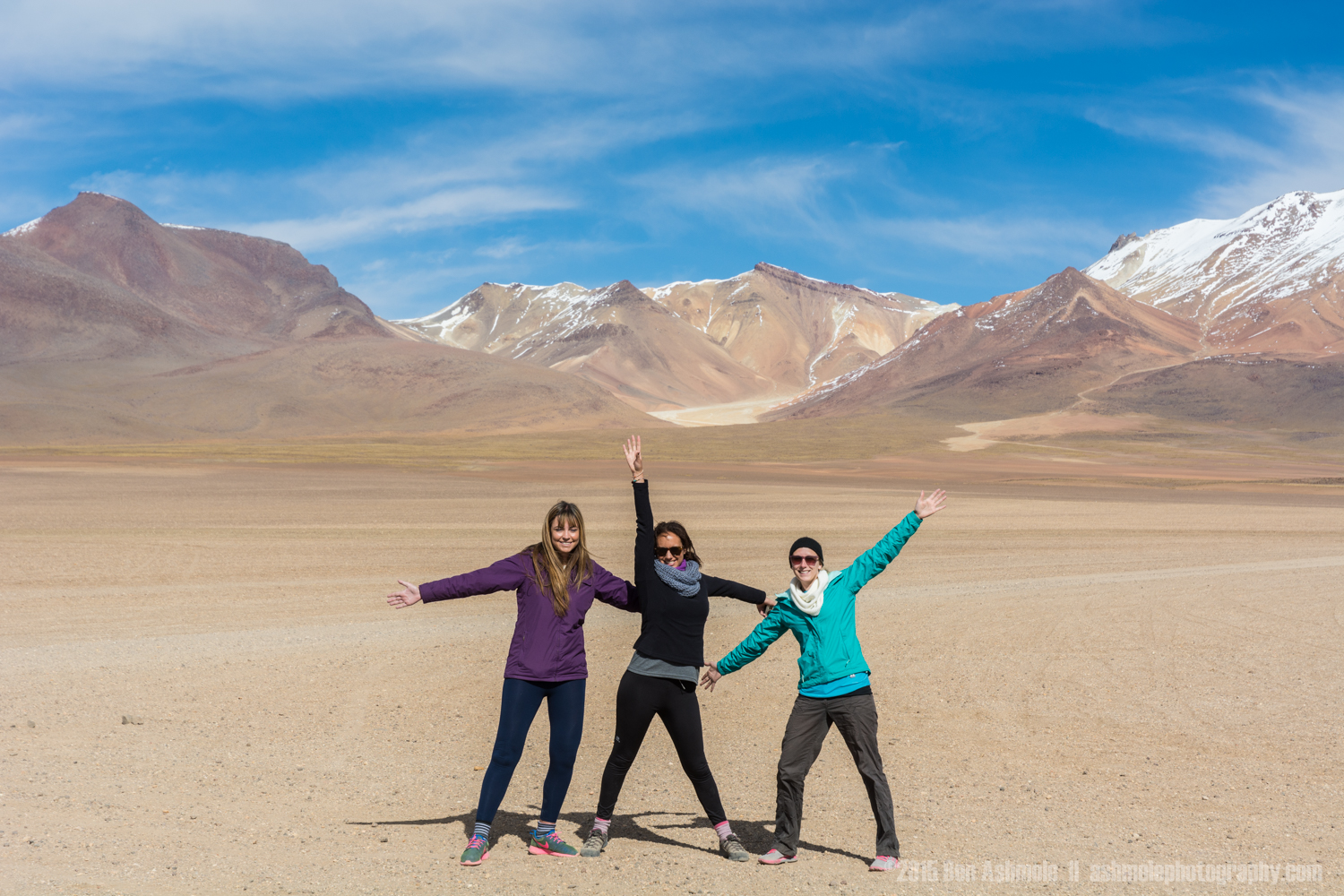Tour Group In The Desert 2, Bolivian Highlands