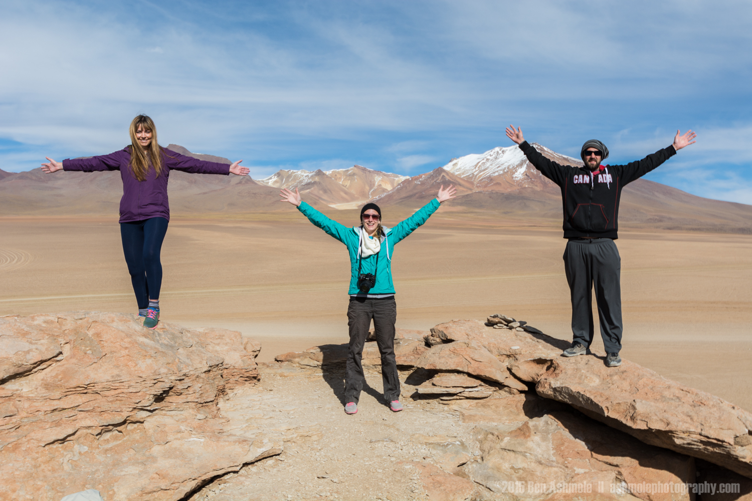 Tour Group In The Desert 3, Bolivian Highlands