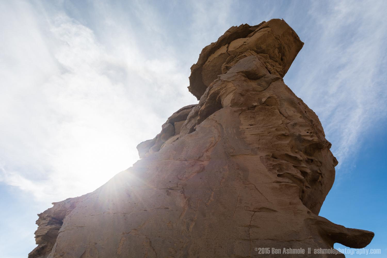 Wind Eroded Stone, Bolivian Highlands