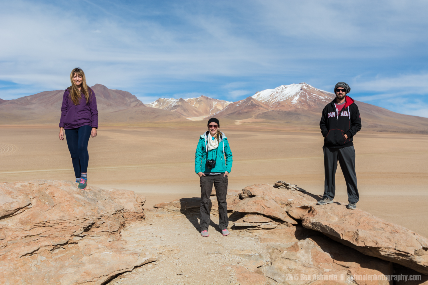 Tour Group In The Desert 4, Bolivian Highlands