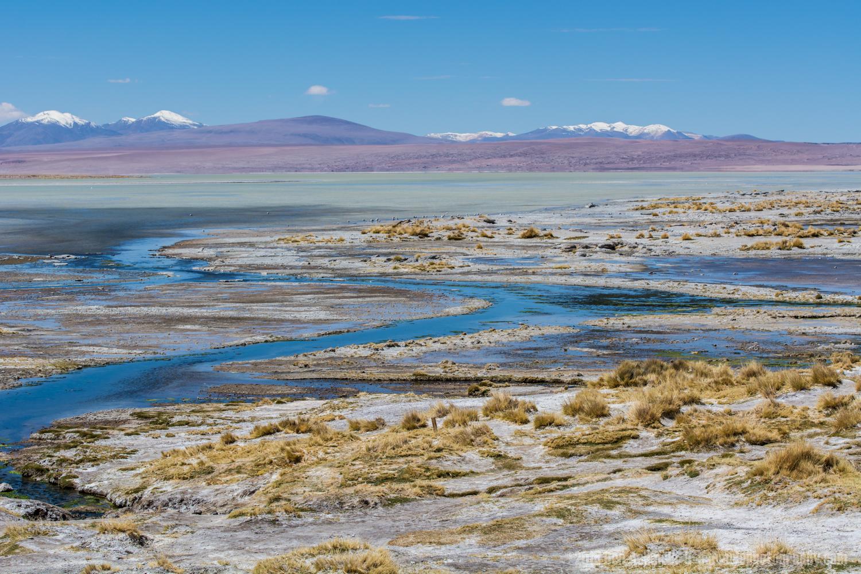 Volcanic River, Bolivian Highlands
