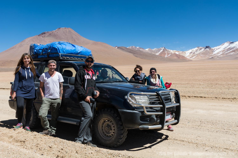 Jeep Tour Group, Bolivian Highlands