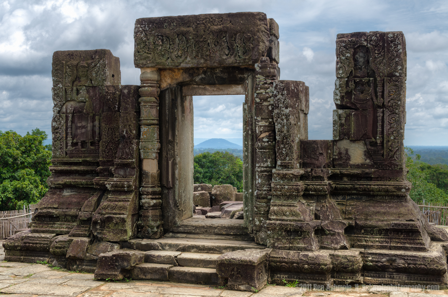 Ancient Doorway, Angkor, Cambodia, Ben Ashmole