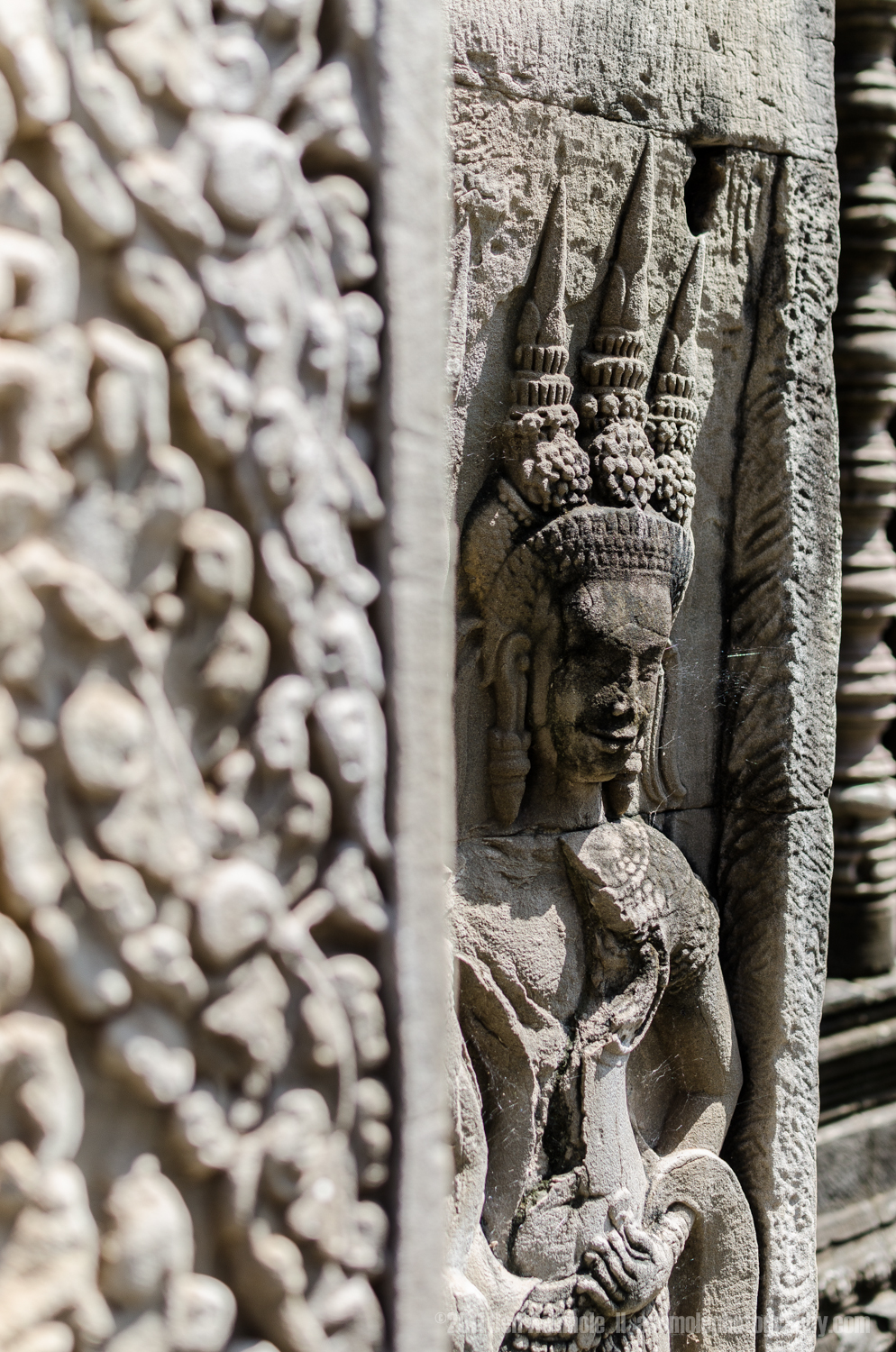 Around the Corner, Angkor, Cambodia, Ben Ashmole