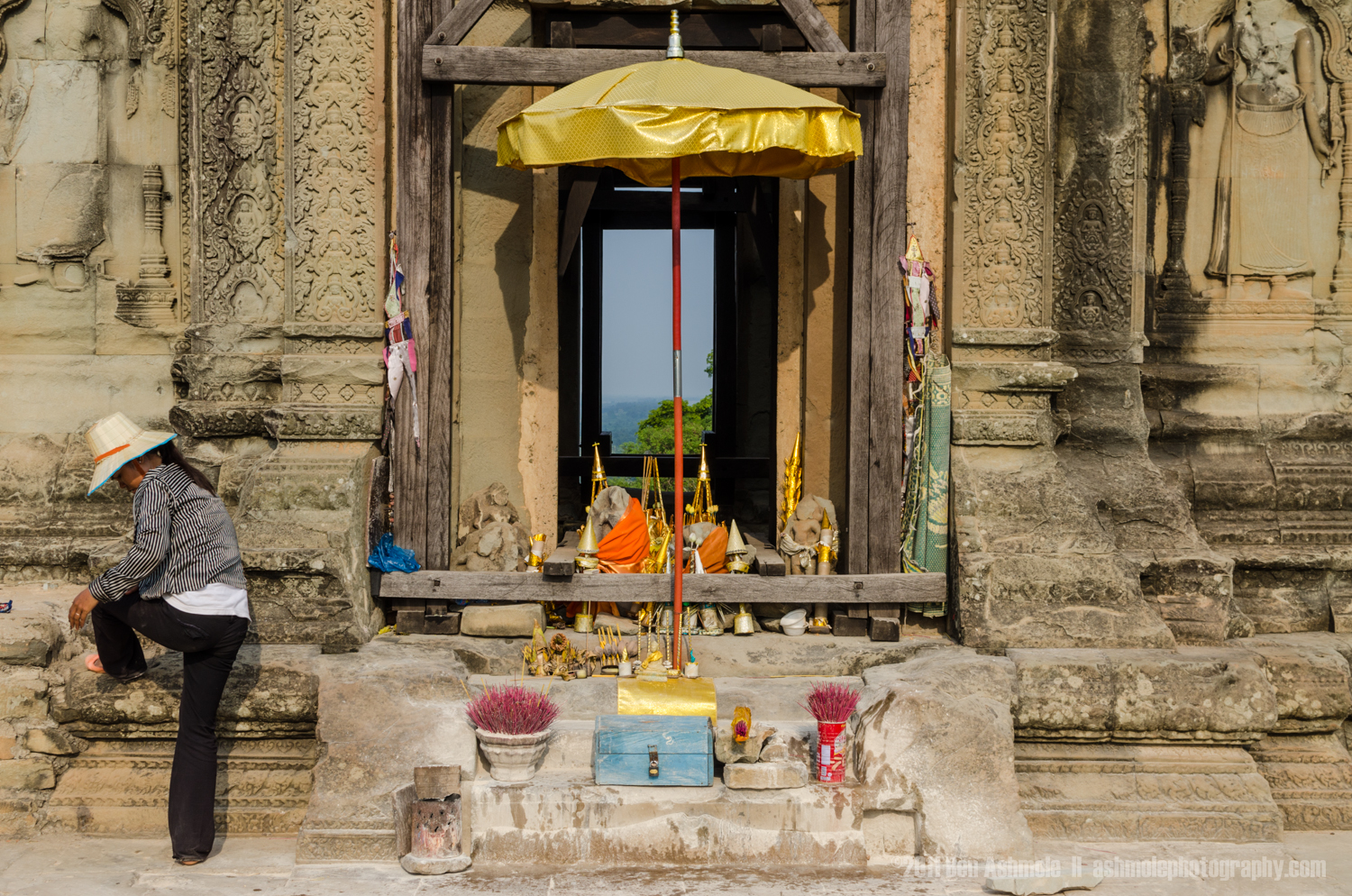 The Makeshift Shrine, Angkor, Cambodia, Ben Ashmole