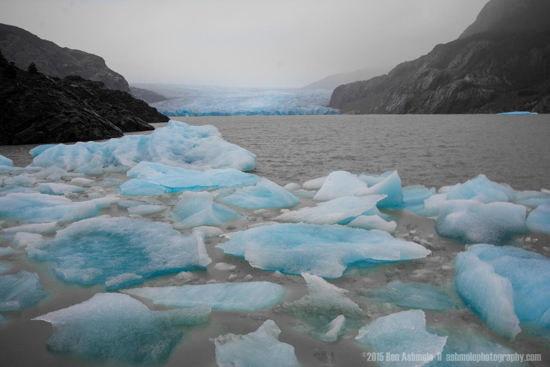 Iceberg Bay, Torres Del Paine, Patagonia, Chile