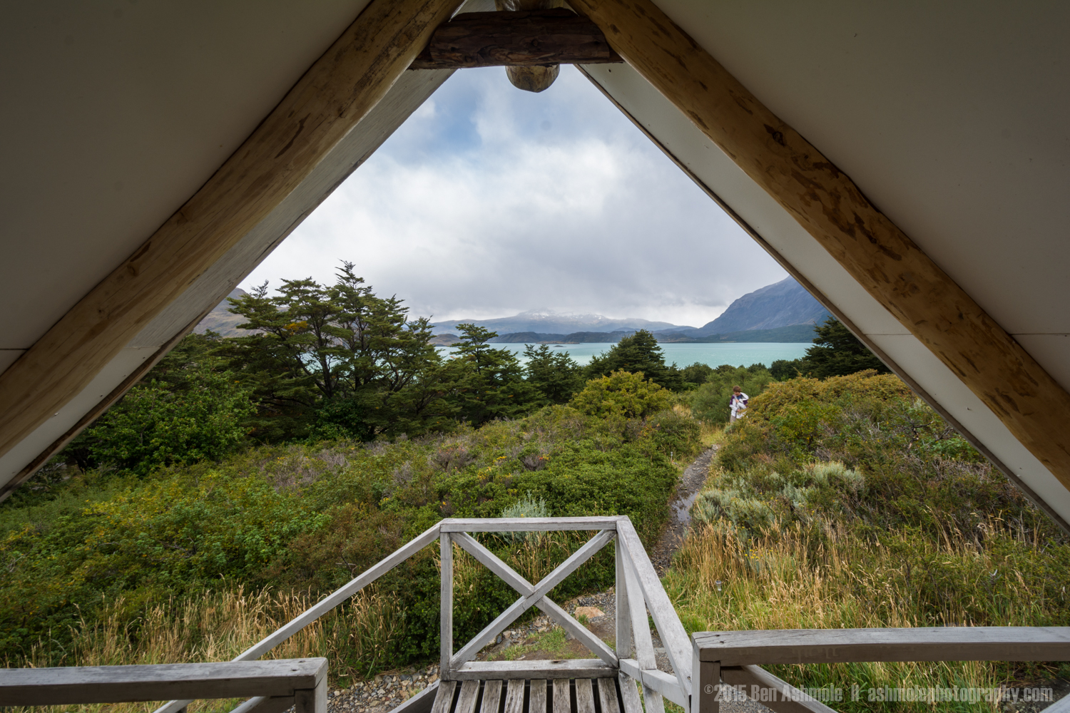 View From The Cabin, Refugio Los Cuernos, Torres Del Paine, Pata