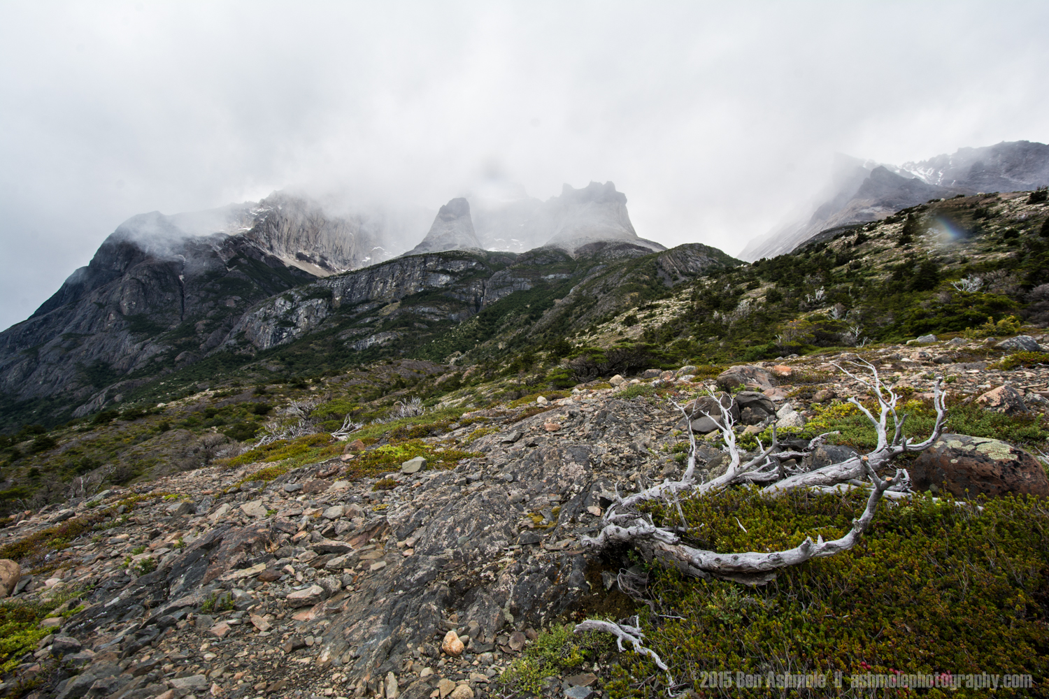 Misty Mountains, Torres Del Paine, Patagonia, Chile