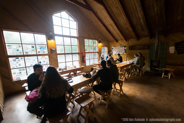 The Refugio Las Torres, Torres Del Paine, Patagonia, Chile