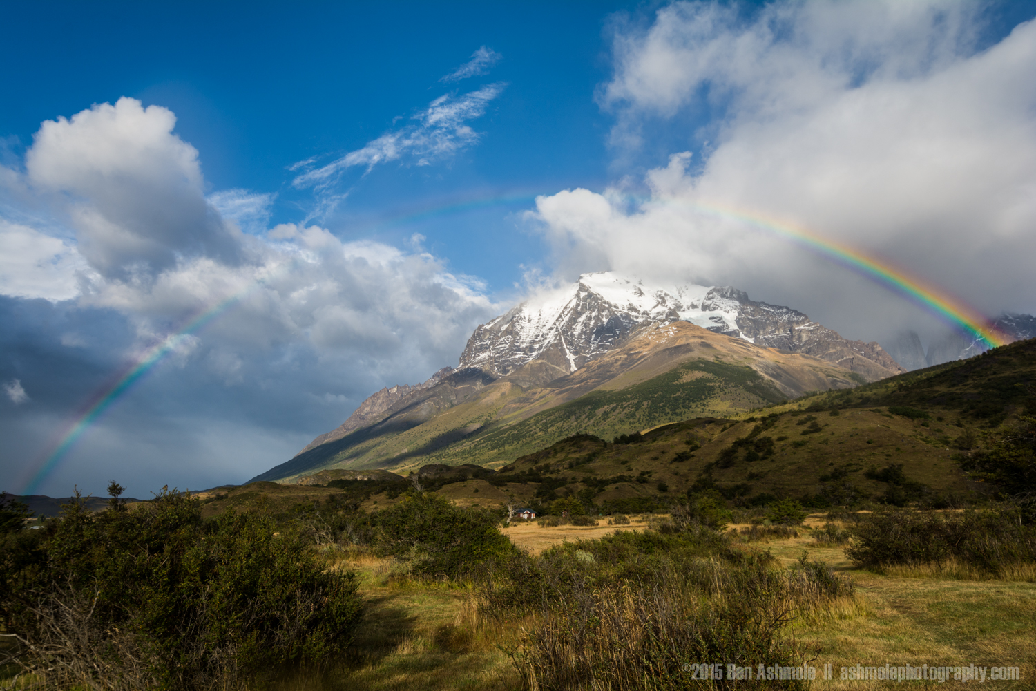 Patagonian Rainbow, Torres Del Paine, Chile