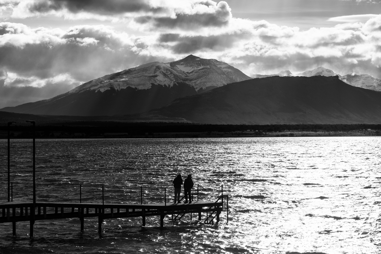 Watching the Mountain, Puerto Natales, Chile