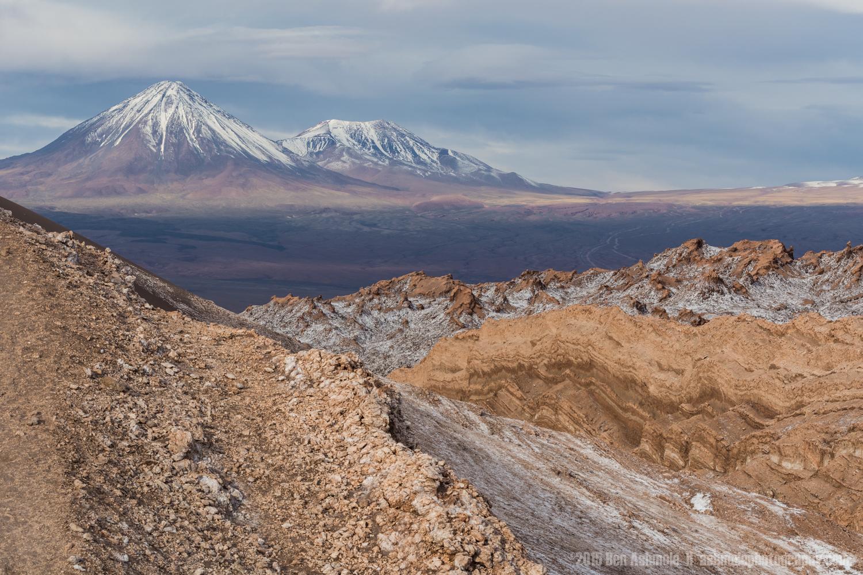 Looking To The Andes, San Pedro De Atacama, Chile