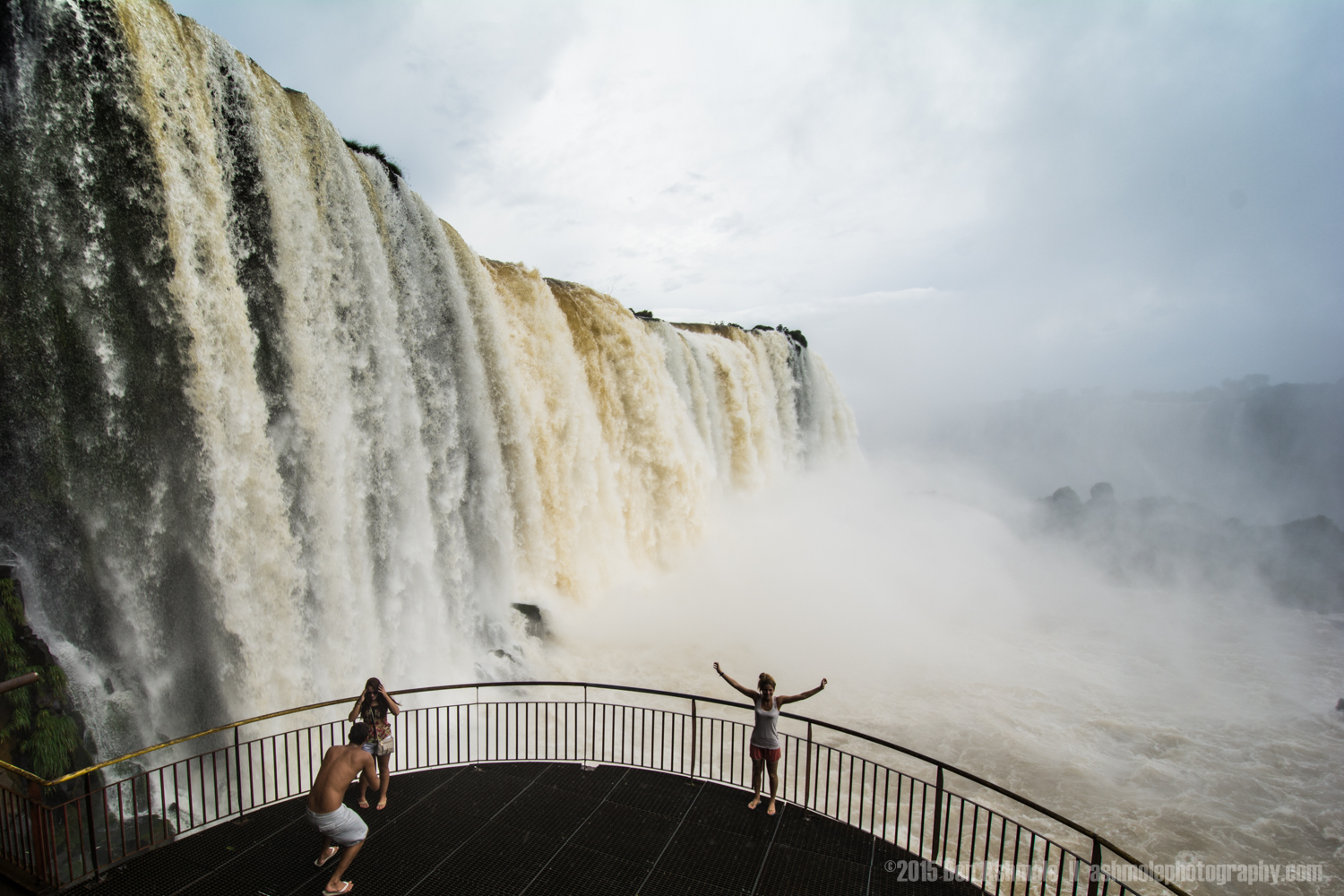 Feeling Small, Iguazu Falls, Brazil