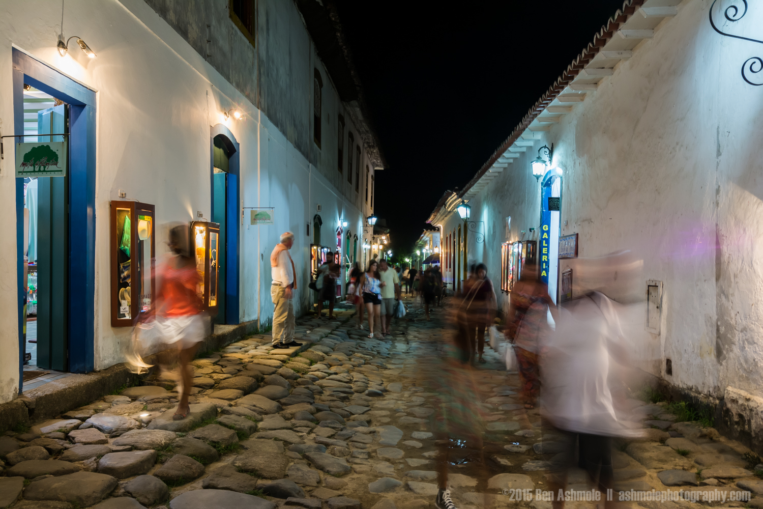 Old Town At Night 2, Paraty, Brazil