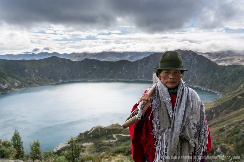 Quechuan Woman, Lake Quilotoa, Ecuador