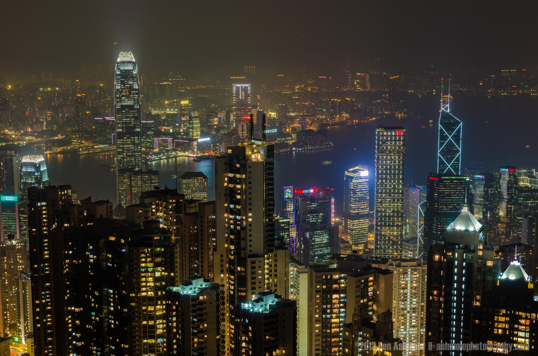 Neon Skyline, Hong Kong, China