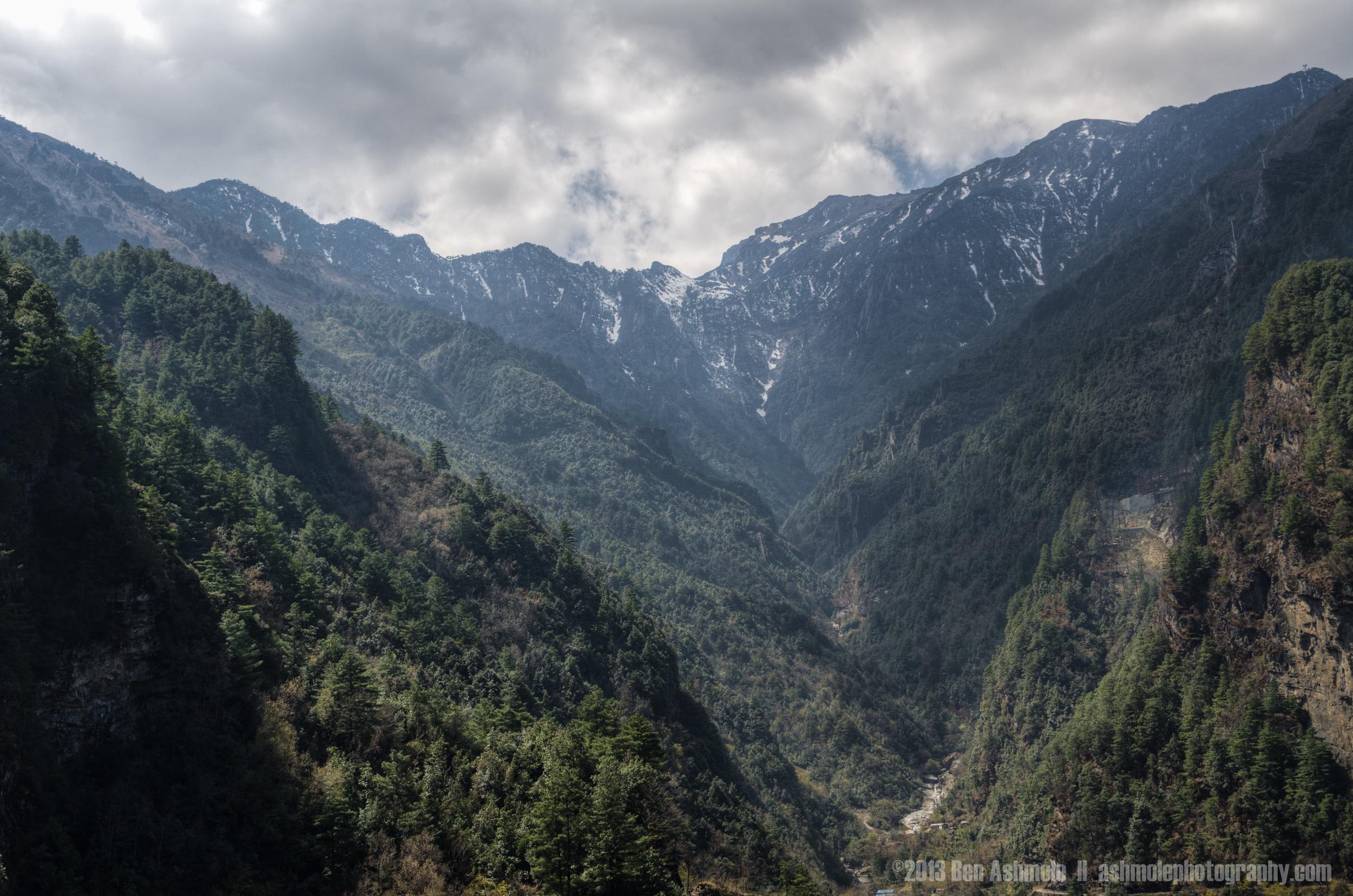 The Cangshan Mountains, Yunnan Province, China