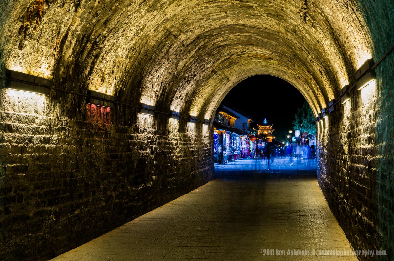 Tunnel to the Temple, Dali, Yunnan Province, China, Ben Ashmole