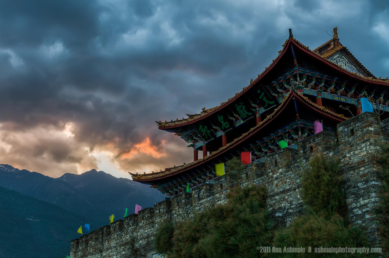 Storm Brewing, Dali, Yunnan Province, China, Ben Ashmole