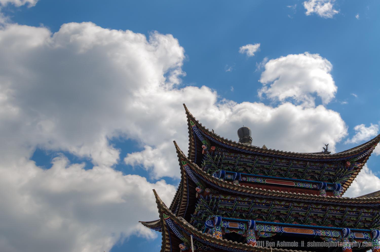 Temple Skies, Dali, Yunnan Province, China, Ben Ashmole