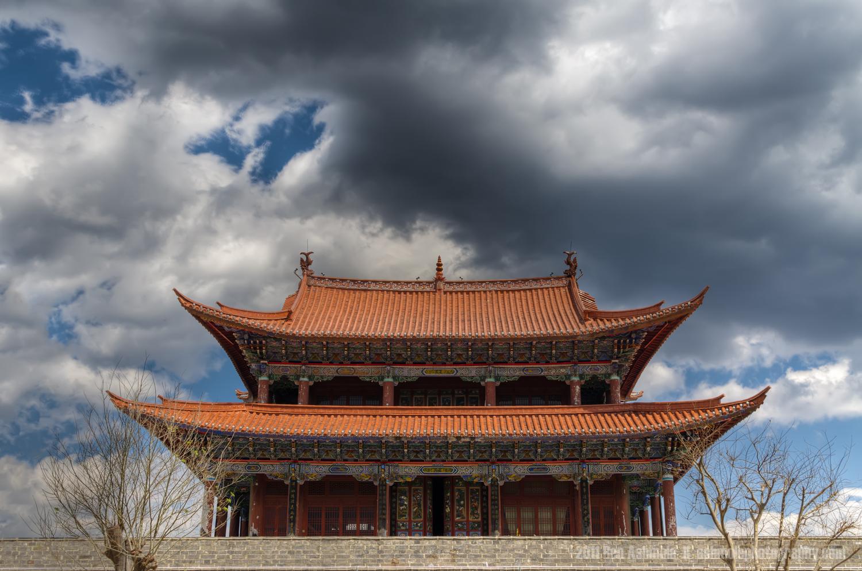 The Drum Tower, Dali, Yunnan Province, China, Ben Ashmole