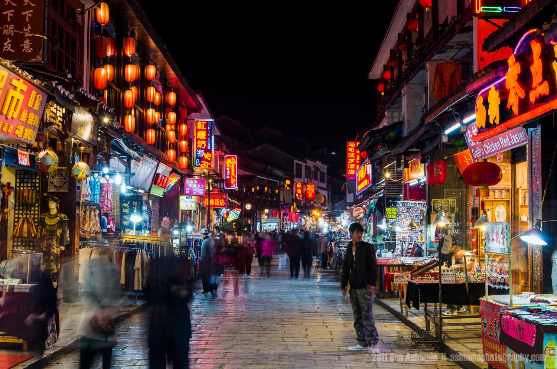 The West st Night Market, Yangshuo, China, Ben Ashmole