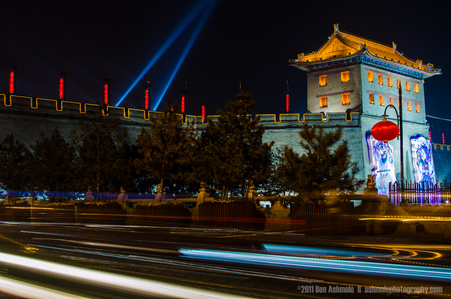 Old With New, Xi'an, Shaanxi Province, China, Ben Ashmole