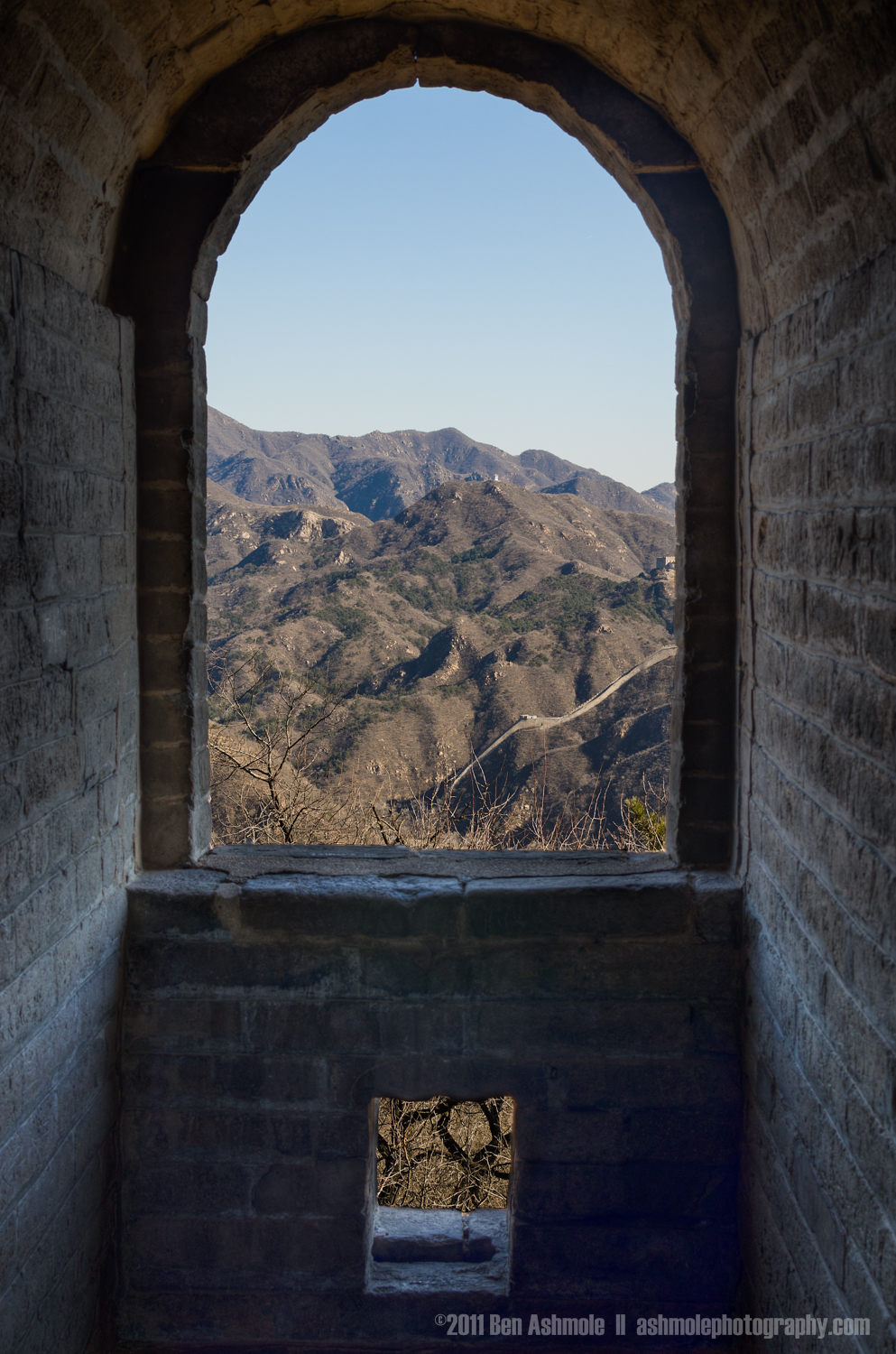 The Wall from the Window, Great Wall of China, Ben Ashmole