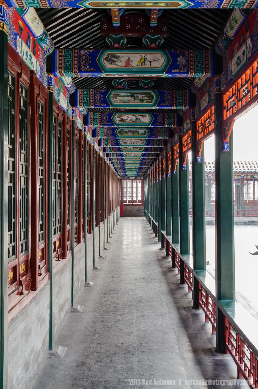 Ornate Walkway, Summer Palace, Beijing, China
