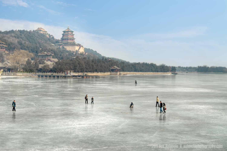 The Frozen Lake, Summer Palace, Beijing, China, Ben Ashmole