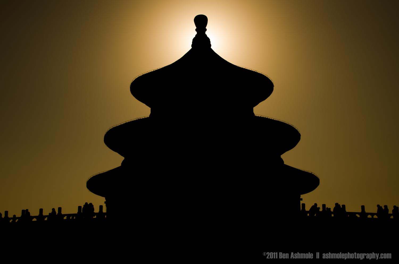 Temple of Heaven Eclipse, Beijing, China, Ben Ashmole