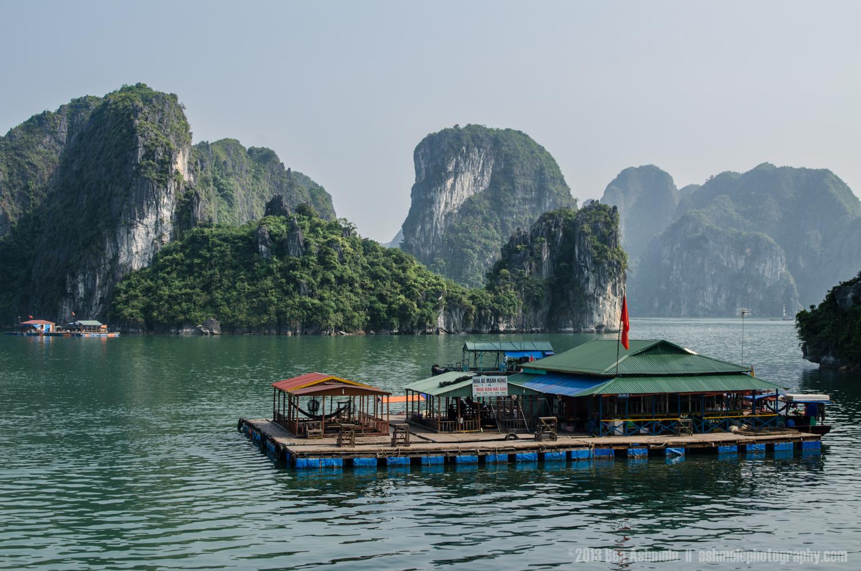 The Floating Bar, Ha Long Bay, Vietnam
