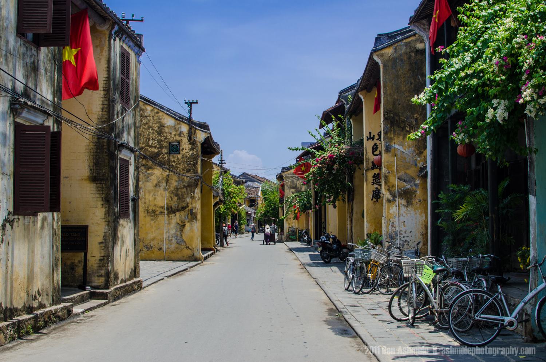 Traditional Vietnamese Street, Hoi An, Vietnam