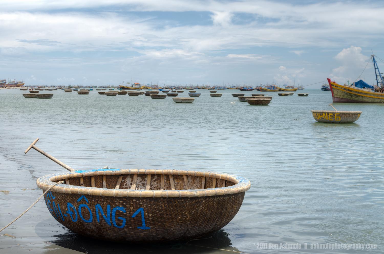 Traditional Fishing Boat Harbour, Mui Ne, Vietnam, Ben Ashmole