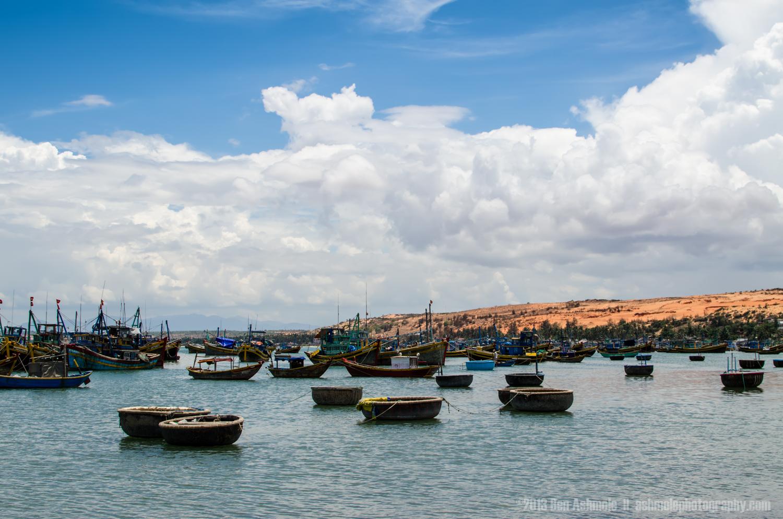 The Fishing Boats Of Mui Ne, Vietnam