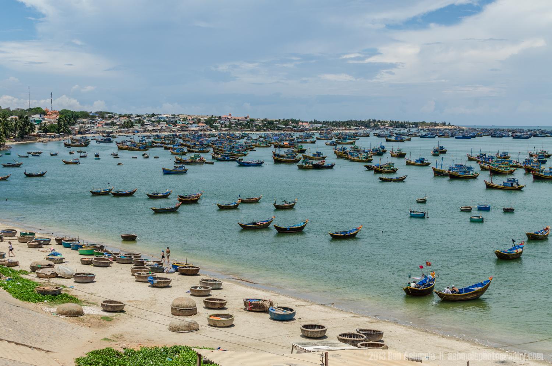 Mui Ne Harbour, Vietnam