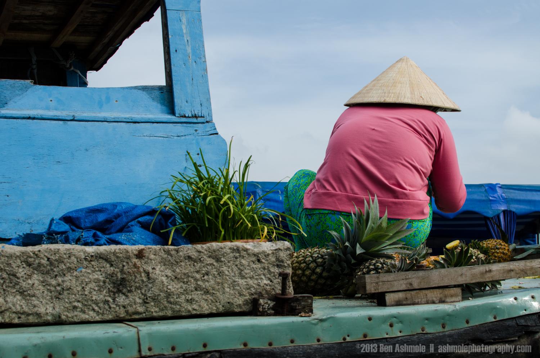 Boat Lady, Mekong Delta, Vietnam