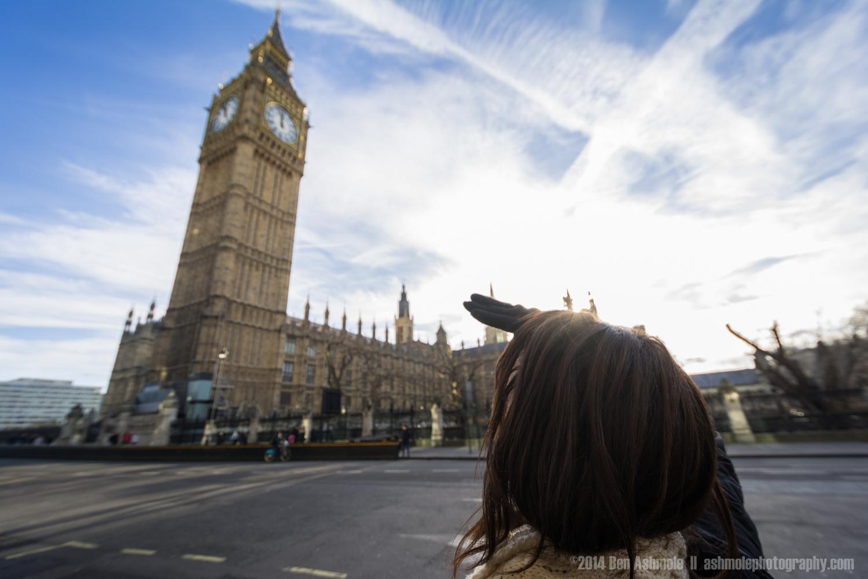 Looking Up At Big Ben 2, London, UK