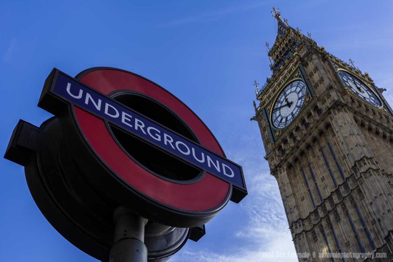 Big Ben And The Underground, London, UK