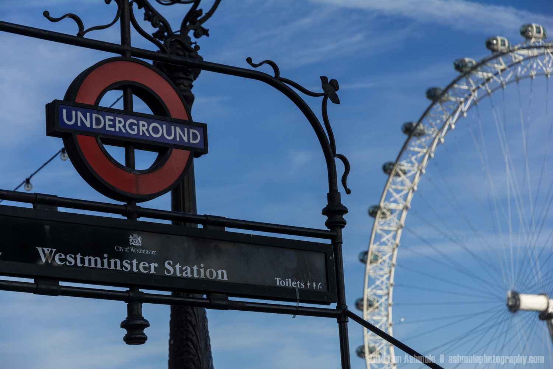 Westminster Underground, London, UK