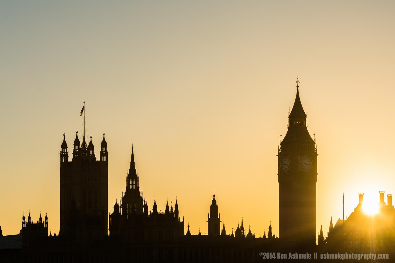 Houses Of Parliament Skyline, London, UK