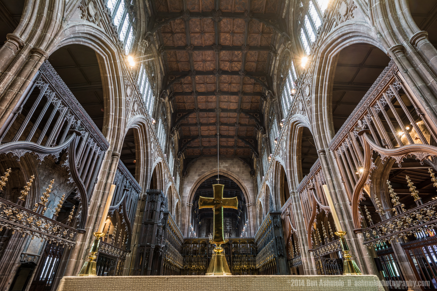 Looking To The Heavens, Manchester Cathedral, UK